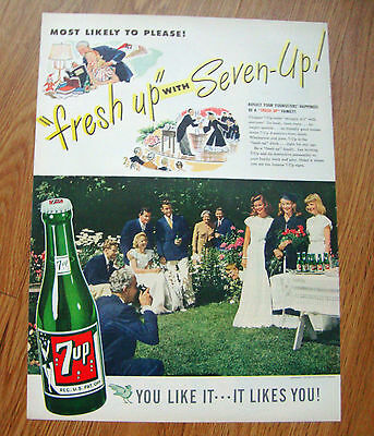 1947 7up Soda Pop Ad Graduation Day