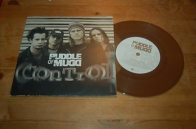 "Puddle Of Mud Control 7"" Single Brown Vinyl"