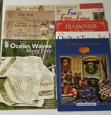 Wholesale 20 Pack Bulk Lot Craft Quilting Sewing Crochet Books