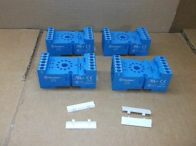 90.03 Finder NEW 11-Pin 10A DIN Rail Mount Relay Socket 9003