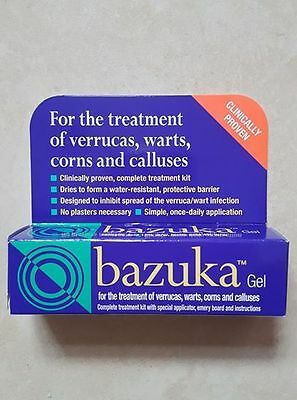 Bazuka Gel for the Treatment Of Verrucas, Warts, Corn & Calluses - 5g