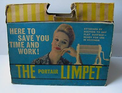 The Portair Limpet Vintage Small Tabletop Mangle Wringer, unused in original box