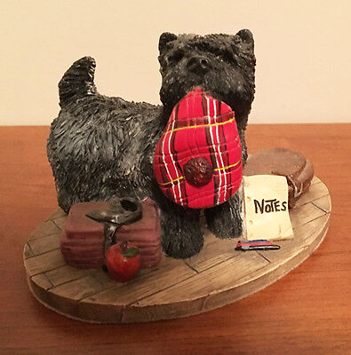 Cairn Terrier Figurine  Hand Painted