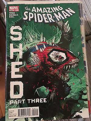 AMAZING SPIDER-MAN #632 VF/NM 1st Print SHED Lizard Chris Bachalo