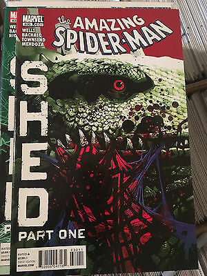 AMAZING SPIDER-MAN #630 VF/NM 1st Print SHED Lizard Chris Bachalo
