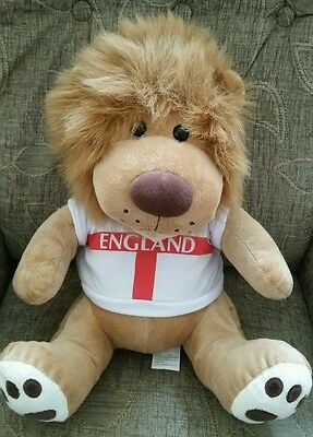 England Lion cuddly toy Teddy