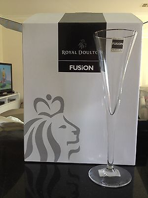 Royal Doulton Fusion Champagne Flutes x 4 **BRAND NEW**