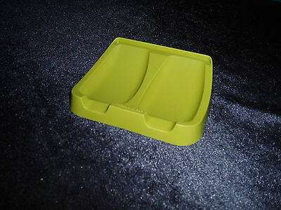 Retro Vintage Olive Green Spoon Rest Tupperware Great Used Condition
