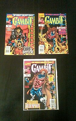 Gambit™ Limited Series   Vol. 1 #1, 2 and 4 VF-NM.