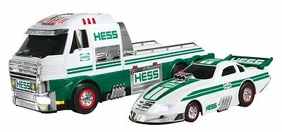 2016 Hess Truck & Dragster With Lights & Sounds - SOLD OUT! - NEW IN BOX - QTY