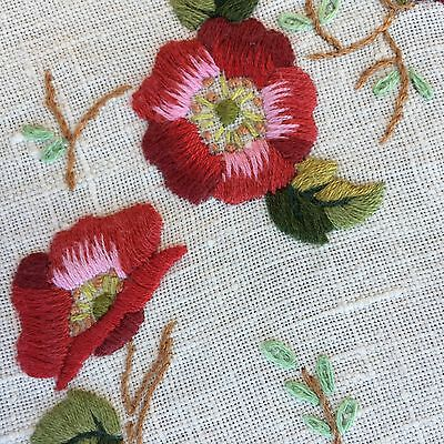 HAND EMBROIDERED TABLECLOTH 125cm x 125cm