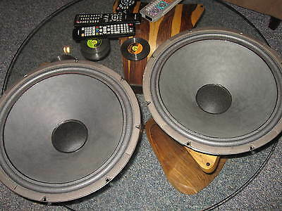 Vintage Jensen 15 Inch Woofers with New Surrounds-NICE !!