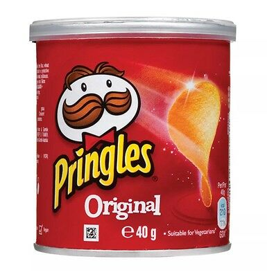Pringles Crisps Original Pack of 12 packs) BEST VALUE.