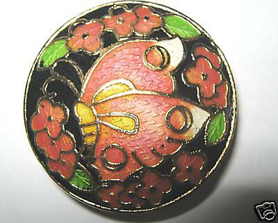 5-Cloisonne Designer AAA 35mm Focal Bead-+FREE- pearls-LAST ONES ! !   (1A5)W3C