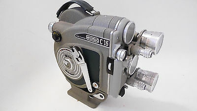 EUMIG C 16. 16mm. Movie camera. An Austrian Bolex. Arriflex. Bell & Howell Filmo