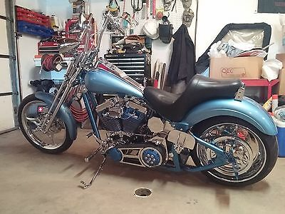 2005 Custom Built Motorcycles Other  Custom Built 240 wide tire springer softail Harley Engine