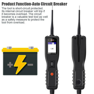 12V24V Car&Truck Power Circuit Tester Electrical Tool AVOmeter Power Scan OS2600