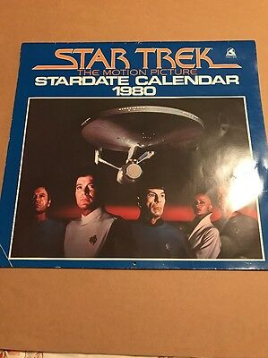 1980 Star Trek The Motion Picture Calendar