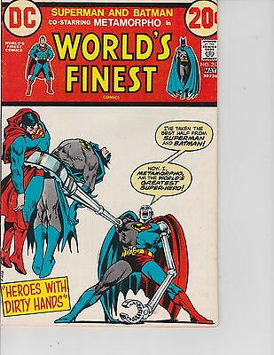 World's Finest  #217 (FN  6.0) Apr/May-1973,  DC