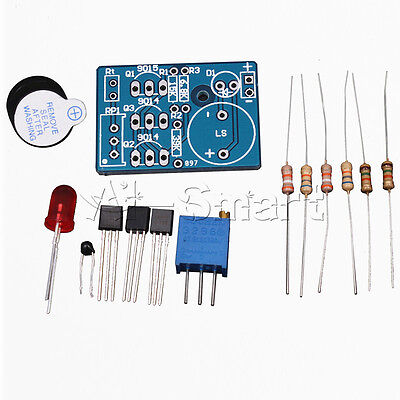 DC 3~5V  Electronic Temperature Control DIY Kit Sound Light Alarm Suite Kit