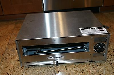 Biaggia Commercial Table Top 12 In. Pizza Oven Model 1898- New
