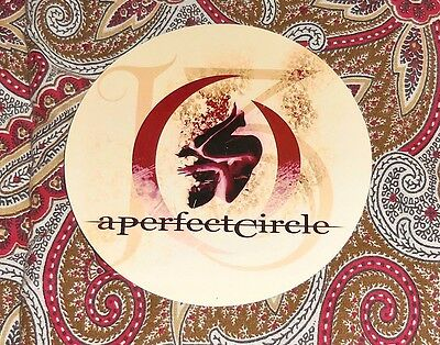 A Perfect Circle - San Jose State Handbill - 6/6/04!  Tool!  Look!