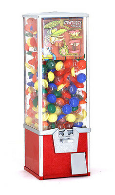 2 inch Toy Capsule / Bouncy Balls Vending Machine - RED - 30 inch