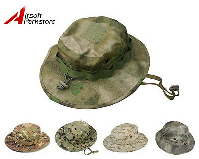 EMERSON Tactical Bucket Boonie Hat Hunting Fishing Outdoor Men Battle Rip Cap