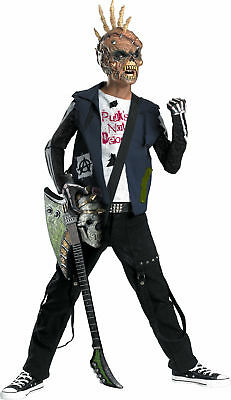 Boys Punk Creep Child Halloween Scary Costume Fancy Dress Party Outfit,