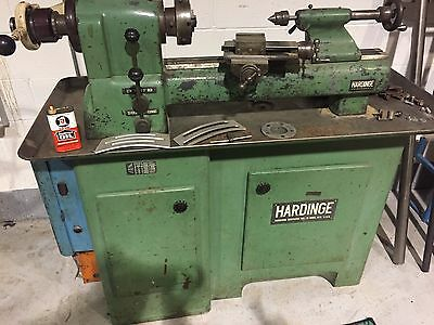HARDINGE METAL LATHE...Runs Great and No Issues