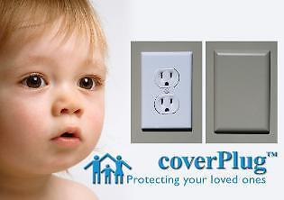 CoverPlug Outlet Covers for 3 Prong Outlets Bulk Pack 48