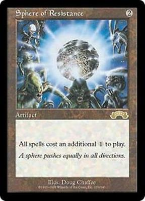 MTG Magic The Gathering Exodus Sphere of Resistance X 1 NM