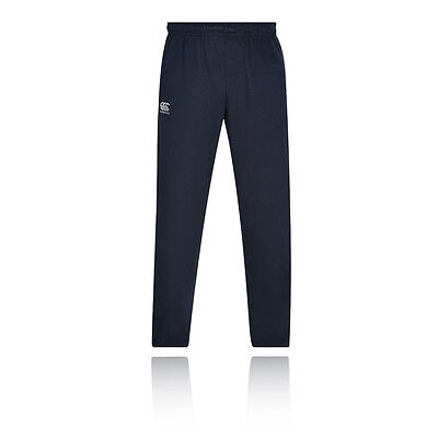 Canterbury Vapodri Tech Mens Blue Fleece Training Gym Long Pants Bottoms