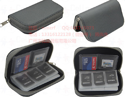 Wallets For SD Card Memory Card Storage Carrying Cases Holder Bag NEW Gift
