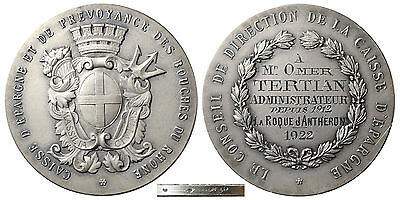 Armenia – French Silver Medal to Armenian Omer Tertian 1922