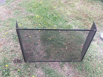 Solid Fire Screen