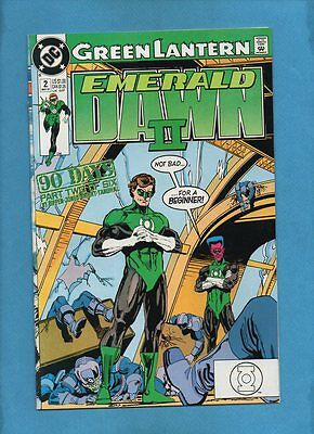 Green Lantern: Emerald Dawn II #2 DC Comics May 1991