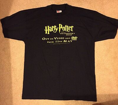 Harry Potter and the Philosopher's Stone Promotional T-shirt - Never Worn - RARE
