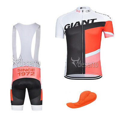 new Bike Race Fashion short sleeve Mens cycling jersey bib shorts set Race Fit