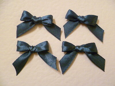 20 Blue 10mm Ribbon bows �� for card making/scrap booking help charity