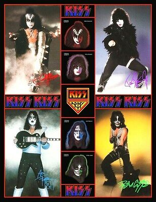 KISS '78 Press Photo / Solo Albums Counter Top Stand-Up Display