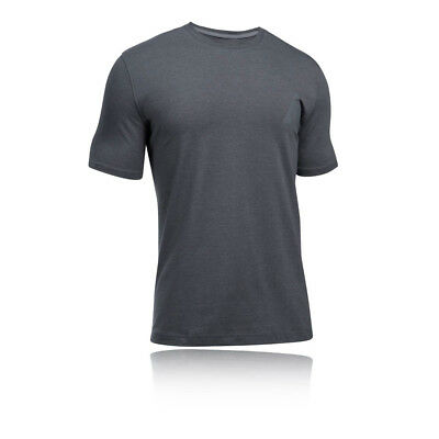 Under Armour Secret Hombre Gris Manga Corta Cuello Redondo Running Camiseta Top