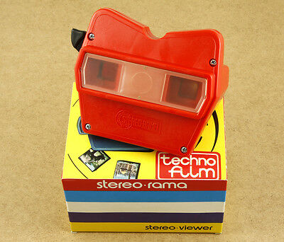 Techno Film Stereorama Viewer View-Master Alike Made in Italy New Old Stock