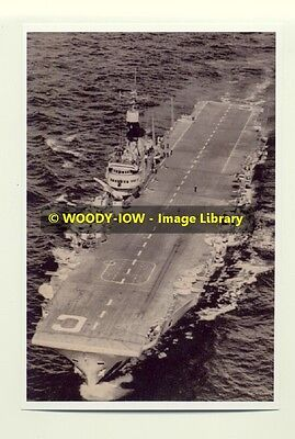 rp7855 - Royal Navy Aircraft Carrier HMS Implacable - photo 6x4