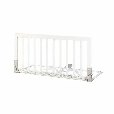 Babydan Wooden Bed Guard in White