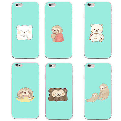 Cute Animal Lightweight Case Cover for iPhone 4 6 Plus Samsung Galaxy S5 Eyeful