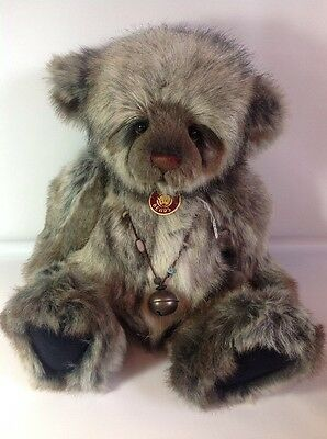 Charlie Bears HENSLEY Brand New With Tags 20 Inch