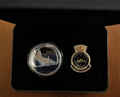 "2014 $1 Silver Proof Coin: ""Australian Navy Submarine."""