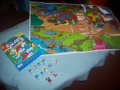 My Busy Books - Peyo The Smurfs - Storybook, 12 Figurines & Playmat complete