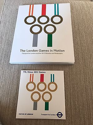 The London Games In Motion - Official TfL Book and DVD set
